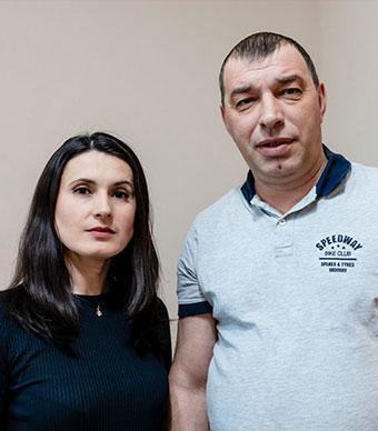 Елена и Александр Шрайнер