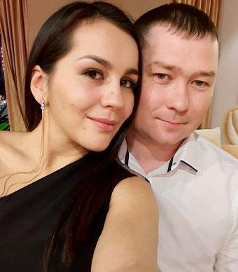 Ксения и Денис Степановы